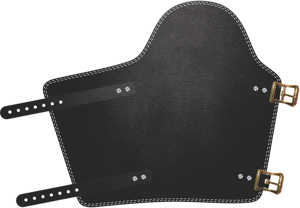 Lightweight Black Armpad.  by Outlaw Leather