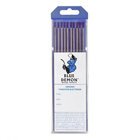 "Blue Demon EWLa-2 1/8"" 2% Lathanated Tungsten, 10/pk - TE2L-18-10T  by Outlaw Leather"