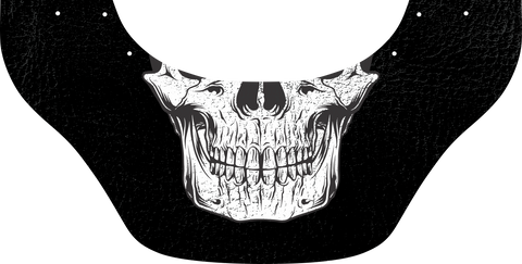 Skull Mouth Bottom Bib - Outlaw Leather