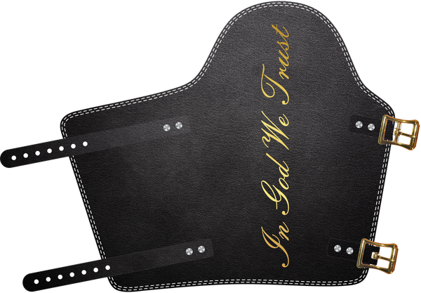 In God We Trust Armpad  by Outlaw Leather