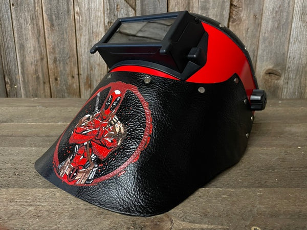 Deadpool Welding Hood