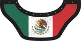 Mexico Flag Bottom Bib  by Outlaw Leather