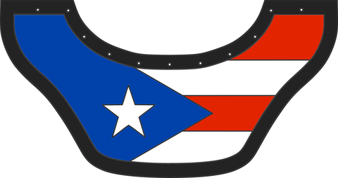 Puerto Rico Flag - Outlaw Leather