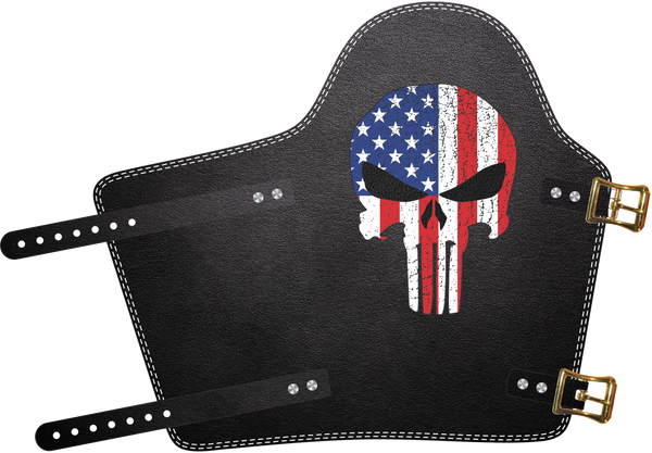Punisher/USA Armpad  by Outlaw Leather