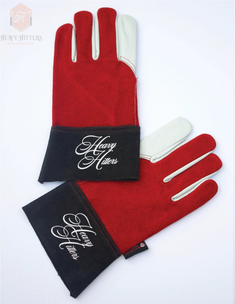 Heavy Hitters Welding Gloves  by Outlaw Leather