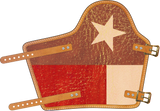 Brown Texas Armpad  by Outlaw Leather