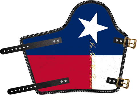 Texas In God We Trust  by Outlaw Leather