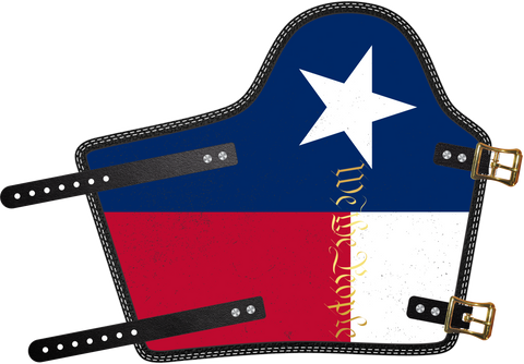 Texas We The People  by Outlaw Leather