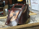 Wolf pocket mask  by Outlaw Leather