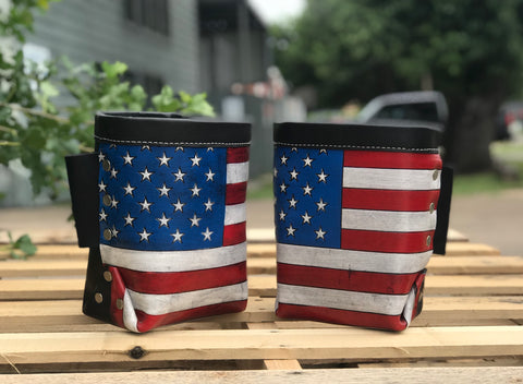 American Bolt Bags (Set of two)  by Outlaw Leather