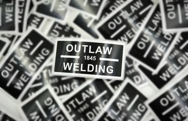 Outlaw Welding Sticker - Outlaw Leather