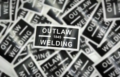 Outlaw Welding Stickers