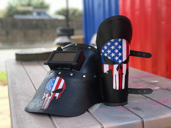 USA Punisher Combo  by Outlaw Leather