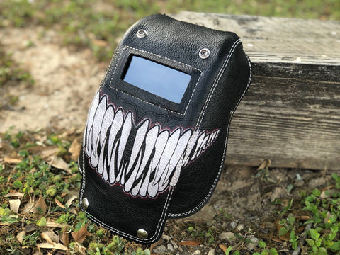 Venom Mouth Pocket Mask - Outlaw Leather