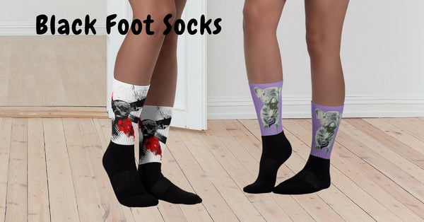 Browse our Black Foot Socks Collection
