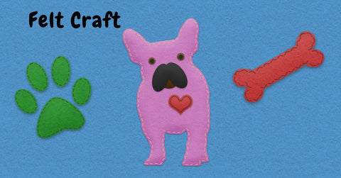 Shop our felt craft style related products for dog lovers