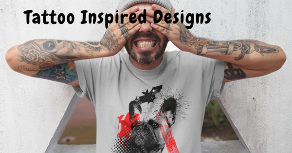 Tattoo Inspired Designs - Fashion, Home Decor, Accessories for Dogs Lovers