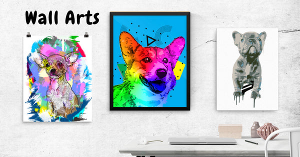 Decorate your Home in Style with our Canvas, Posters and Framed Posters for Dog Lovers