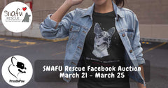 SNAFU Rescue Facebook Fundraising Auction March 2018