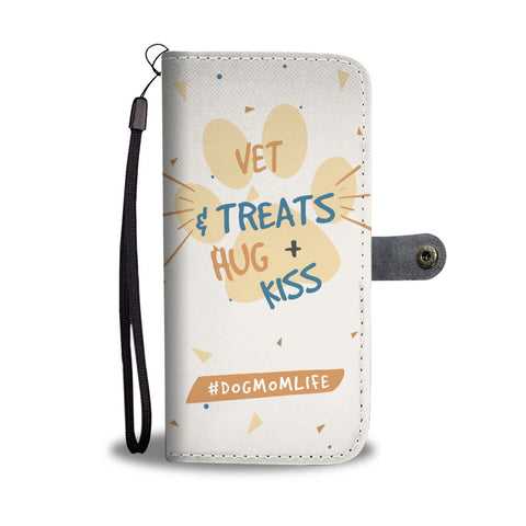 Dog Mom Life Paw Edition - Wallet Phone Case