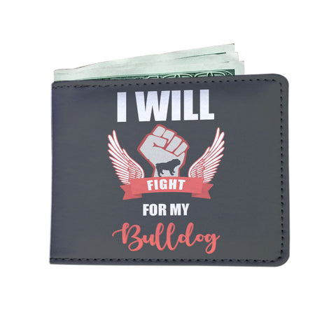 I Will Fight For My English Bulldog - Men's Wallet