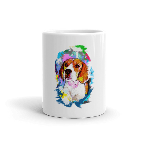 Beagle Artistic Photo Art 11oz Mug - Front View