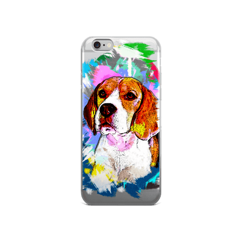 Beagle Artistic Photo Art iPhone 6/6s Case