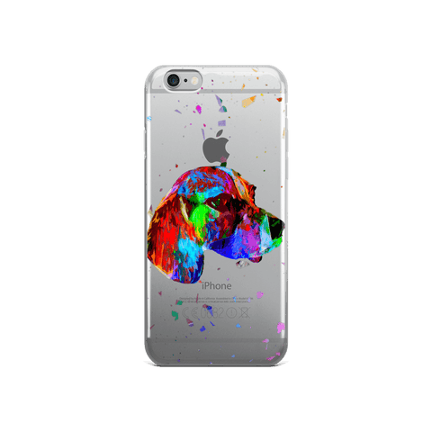Beagle Colorful Poly iPhone 6/6s Case