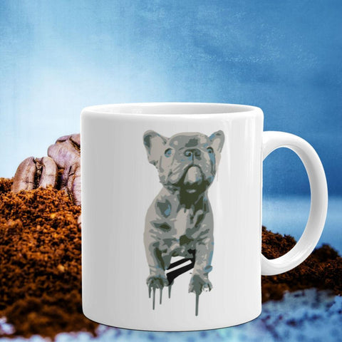 Blue Frenchie Celebration - 11oz Mug