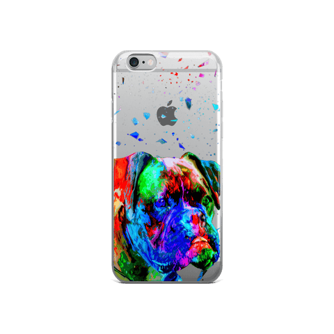 Boxer Colorful Poly Art iPhone 6/6s Case