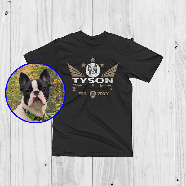 c6d58f151 Personalized Brand Logo Of Your Pet - Wings Of Love - Unisex T-Shirt ...