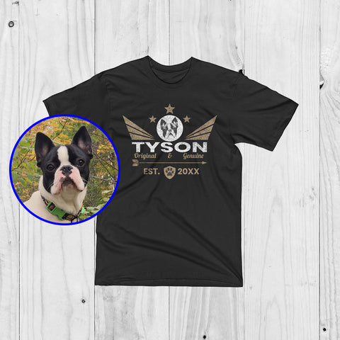 Personalized Brand Logo Of Your Pet - Wings Of Love - Unisex T-Shirt