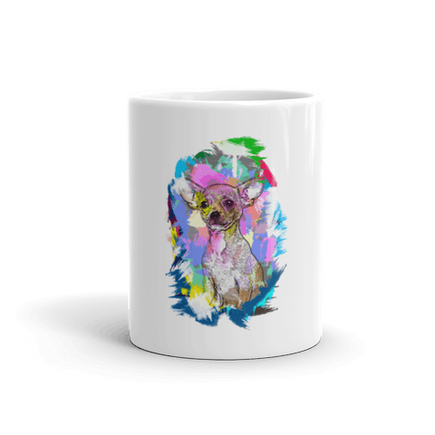 Chihuahua Artistic Photo Art 11oz Mug - Front View