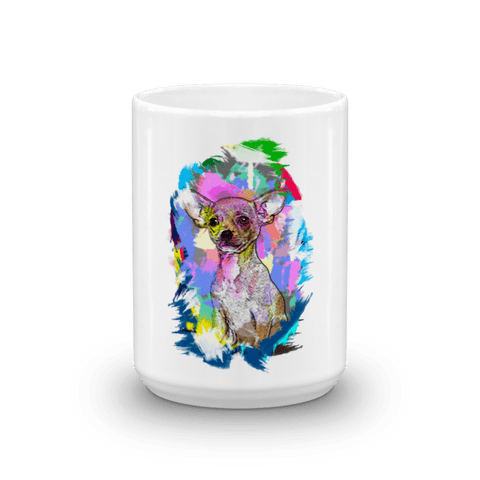 Chihuahua Artistic Photo Art 15oz Mug - Front View