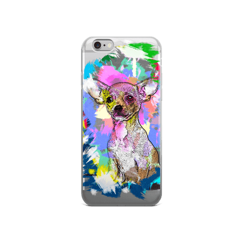 Chihuahua Artistic Photo Art iPhone 6/6s Case