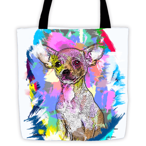 Chihuahua Artistic Photo Art All-Over Tote Bag