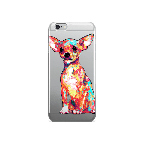 Chihuahua Colorful Painting iPhone 6/6s Case
