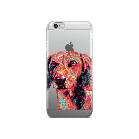 Dachshund Colorful Painting iPhone 6/6s Case