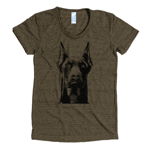 Doberman Pinscher - Women's T-Shirt - Coffee