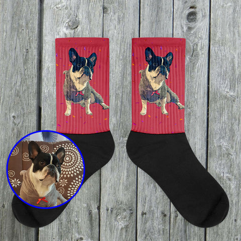 Custom Socks of your Pet - Pop Art