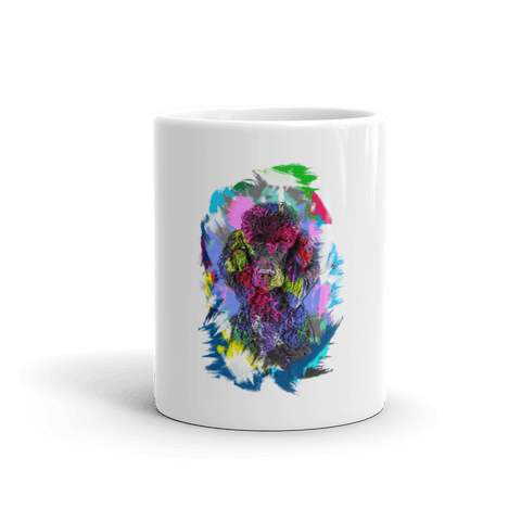 Poodle Artistic Photo Art 11oz Mug - Front View
