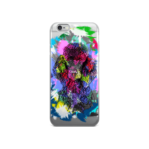 Poodle Artistic Photo Art iPhone 6/6s Case