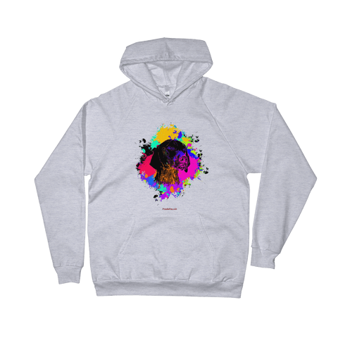 German Shorthaired Pointer Colorful Paint - Pullover Hoodie