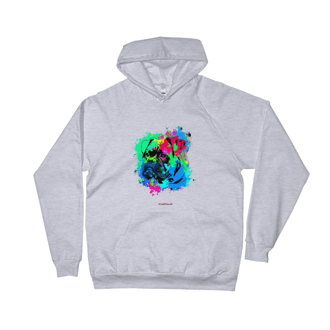 Boxer Colorful Paint - Pullover Hoodie