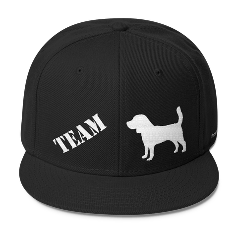 TEAM Beagle - Wool Blend Snapback