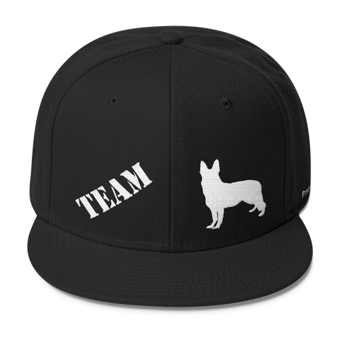 TEAM German Shepherd - Wool Blend Snapback