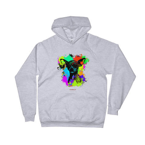 Chihuahua Colorful Paint - Pullover Hoodie