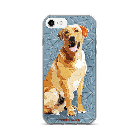 Labrador Retriever Polygonal Art - iPhone 7/7 Plus Case