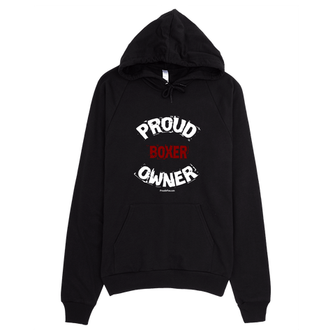 Proud Boxer Owner / White - Pullover Hoodie