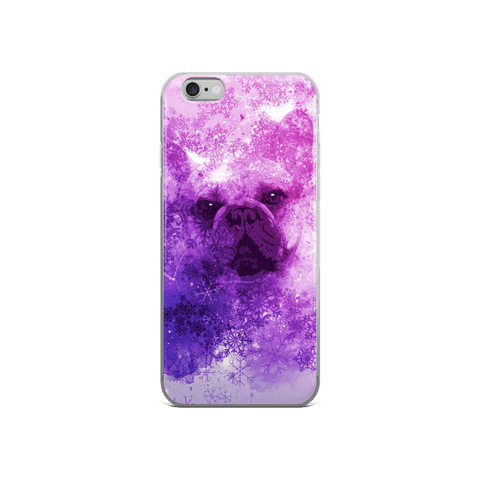 French Bulldog Christmas - iPhone Case